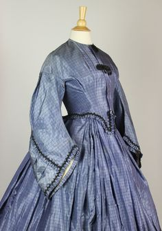blue silk, periwinkl blue, dress, art, civil war, gown, periwinkle blue, museum, wedding outfits