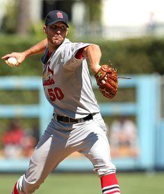 Starting pitcher Adam Wainwright       9-16-12