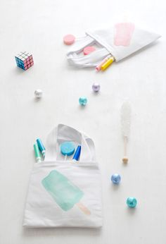 Popsicle Party Printables +DIY over on Creature Comforts blog