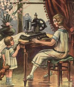 Vintage sewing Label