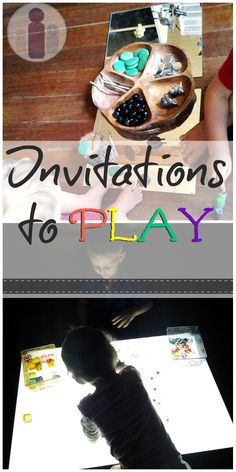 Invitations to play