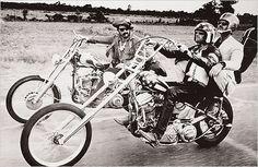 Dennis Hopper, Peter Fonda, and Jack Nicholson