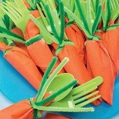 Easter lunch utensils