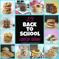 15 Back To School Cookie Ideas