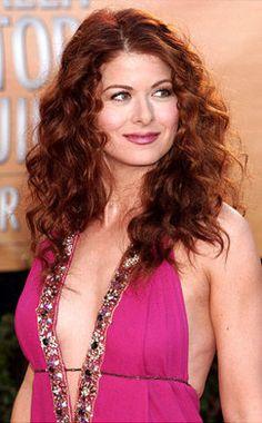 Debra Messing's hair