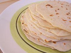 Homemade Tortilla Recipe | The Prairie Homestead Can use gf flour and alt. milk