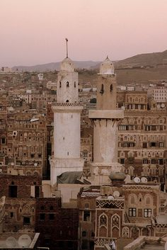 Sana'a #Yemen #World heritage