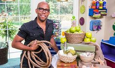 @kennethwingard  DIYs rope bowls to hold and display items on coffee tables or side boards! #rope #bowls #homeandfamily #homeandfamilytv