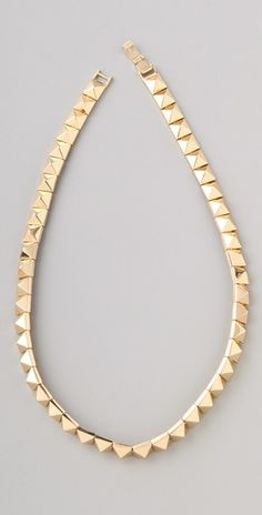 studded necklace..pyramid