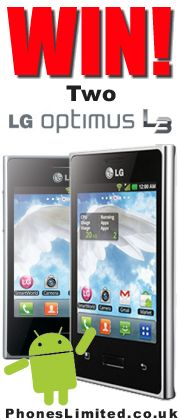 SHARE & PIN to WIN!  Our Xmas Competition is for 2 x LG Optimus L3 Android smart phones!  http://blog.phoneslimited.co.uk/2012/12/03/xmas-competition-win-2-x-lg-optimus-l3-android-phones/