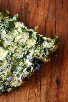 crustless quiche loaded with kale