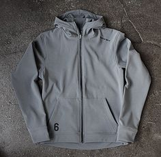 twin six thermal hoodie. $195
