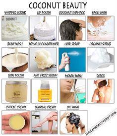15 Best Homemade Coconut Beauty DIYs - ♥ IndianBeautySpot.Com ♥