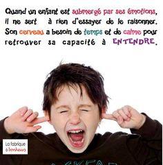 Quand un enfant est submergé par ses émotions... www.tdah.be