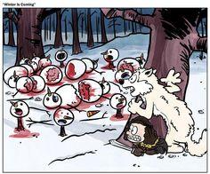 Calvin & Hobbes Game of Thrones