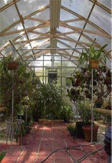 Keep plants safe with a gothic arch greenhouse the sturdy for Gothic arch greenhouse plans