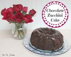 The Pin Junkie: Chocolate Zucchini Cake