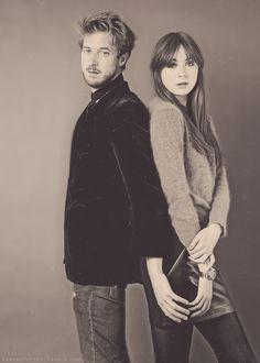 Arthur Darvill and Karen Gillan.