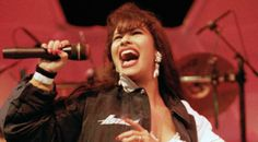 02/27/1994 - Tejano music singer Selena performing at the Houston Livestock Show and Rodeo. I was there!!!