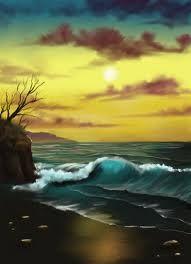bob ross paintings -