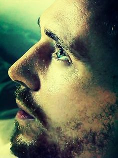 Tom Hiddleston close-up.