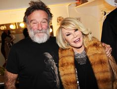 Robin Williams and Joan Rivers #rip