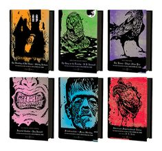 Penguin Horror series curated by Guillermo del Toro