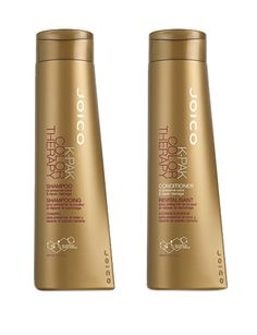 Repair your strands with a shampoo and conditioner specifically targeted towards color-treated hair. // K-Pak Color Therapy Shampoo and Conditioner by Joico