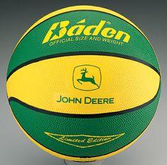 John Deere Trademark Basketball
