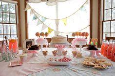 pink first birthday