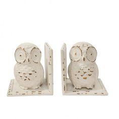 Rodworks - Metal Owl Bookends - Rodworks