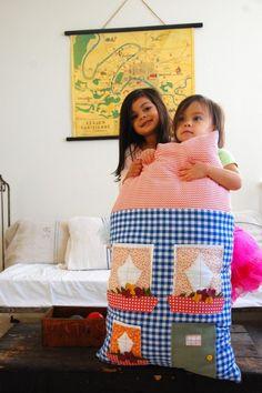 the dollhouse pillow