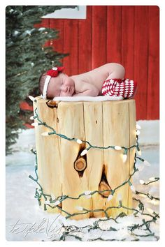 CHRISTMAS newborn baby girl photo prop by TrebleStitchBoutique, $25.00