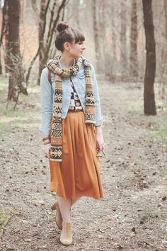 Maddinka's blog Skirt @ La Redoute