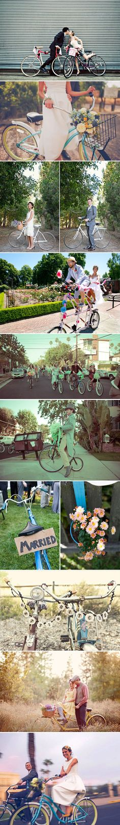 The Theme bikes The Theme // Get on your Bike! Wedding inspiration wedding ideas bike weddings bike wedding theme  wedding inspiration wedding decor 2 inspiration found and beautiful