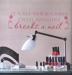 Nail salon ideas!