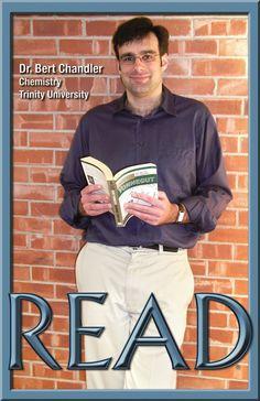 READ Poster, Professor Bert Chandler, Chemistry
