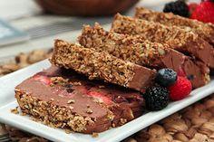 Gluten Free Diabetic Safe Desserts: Crunchy Chocolate And Fruits Bar Recipe