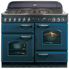 applianc, color, blue, dream rang, awesom stove