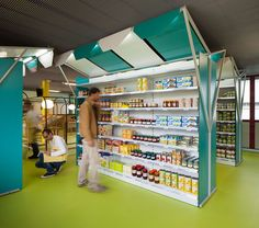 Mini M grocery is a neighborhood grocery store at the Toulouse University