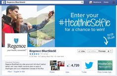 Love taking #selfies? Then why not a #HealthieSelfie & enter it into Regence BlueCross BlueShield of Oregon's content for a chance to win big!  #PhotoContest #FWB40 contest fundrais, win big, facebook contest