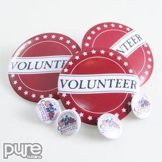 Political Buttons, Campaign Buttons