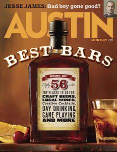 Austin Monthlys best bars article