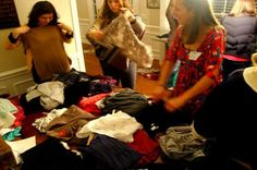 How to host a rockin clothing swap! #Resolutions
