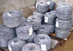 Barbed Wire is great for security. Keeping it in your stock is a good way to prepare. Find Barbed Wire on GovLiquidation