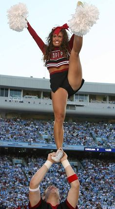 gamecock cheerleader = my dream