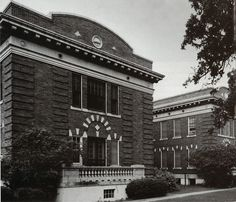 1913 - Over the years, Parkland's wooden buildings were replaced with the brick structures. This structure, built in 1913, was the first brick hospital structure in Texas. The hospital remained located at the intersection of Maple and Oak Lawn avenues and was hauled as a premier facility of its time.
