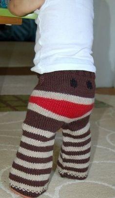 SOCK MONKEY PANTS!!