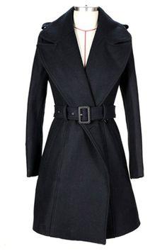 chic wrap coat