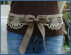 Feminine Lace Belt - Pattern for Sale